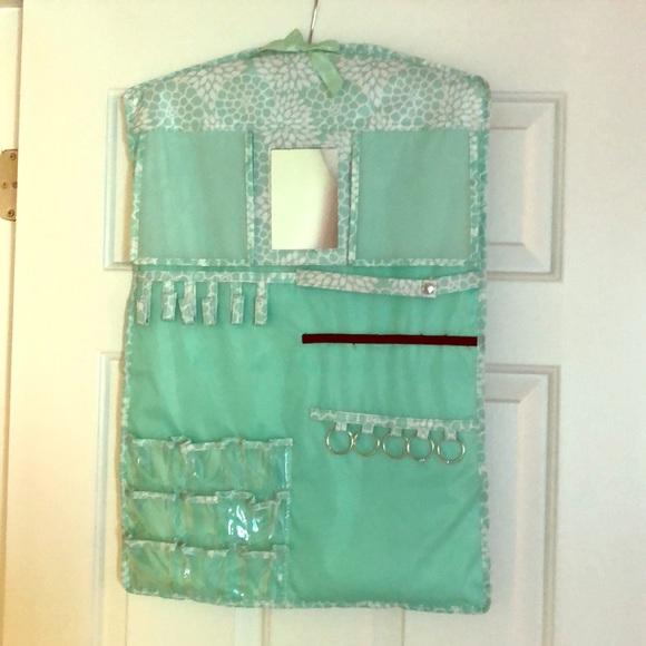 Closet Hanging Jewelry Holder